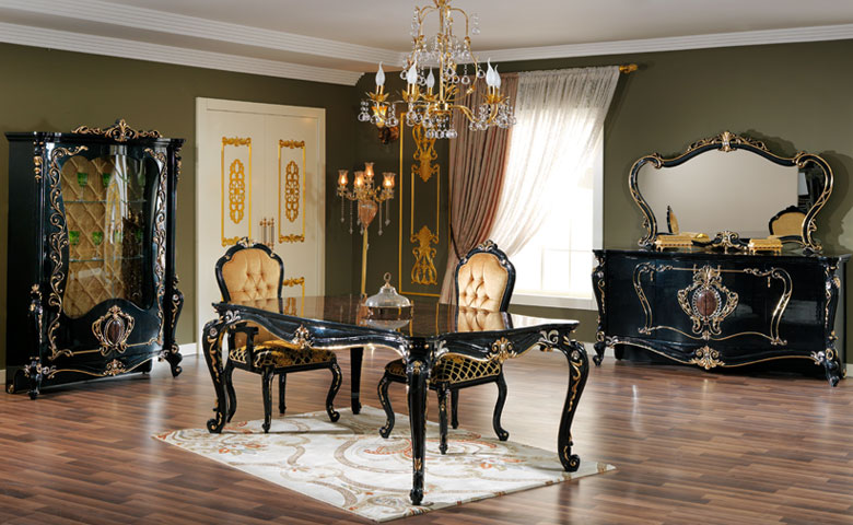 Lagos Classic Dining Room Set