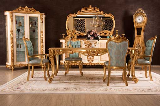 yasemin classic dining room set