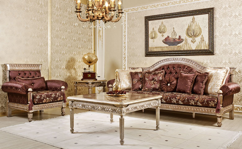 Beau Classic Sofa Sets Luxury Seat Models Turkish